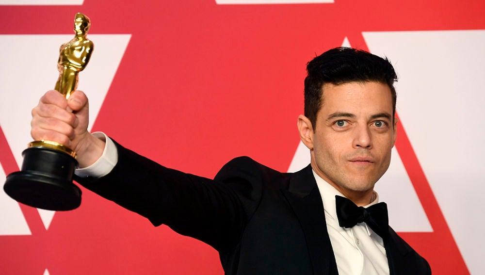 Rami Malek tras ganar el Oscar a Mejor Actor