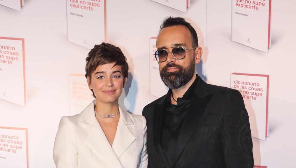 Laura Escanes y Risto Mejide