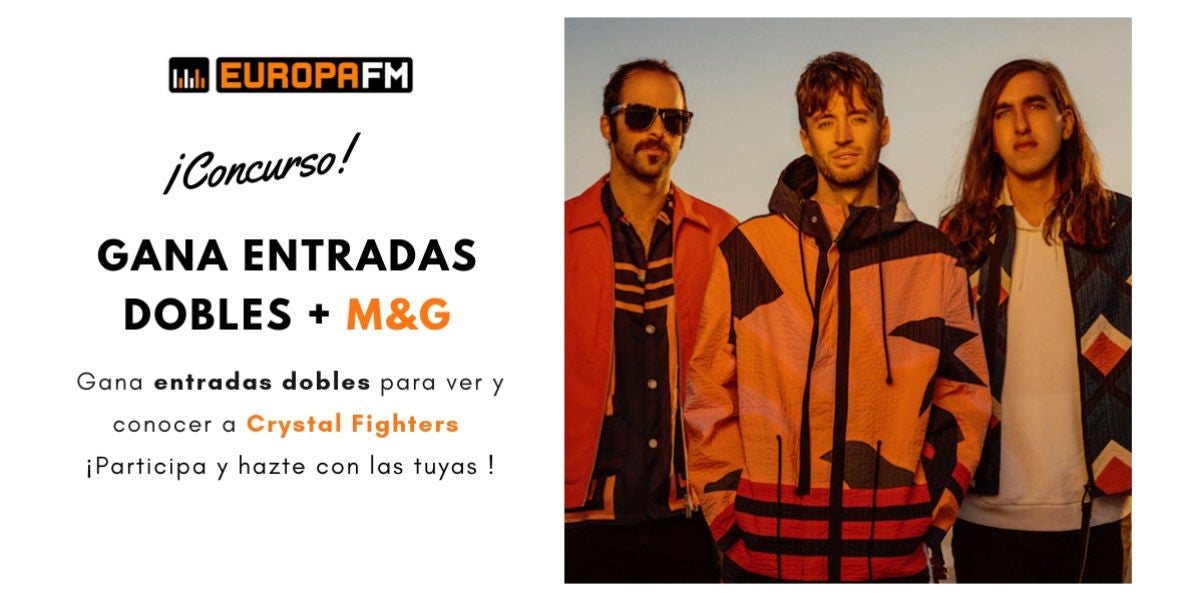 Gana entradas para ver y conocer a Crystal Fighters