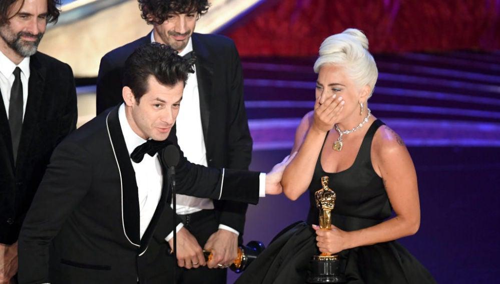 Lady Gaga gana el Oscar 2019 a la Mejor Canción por 'Shallow'