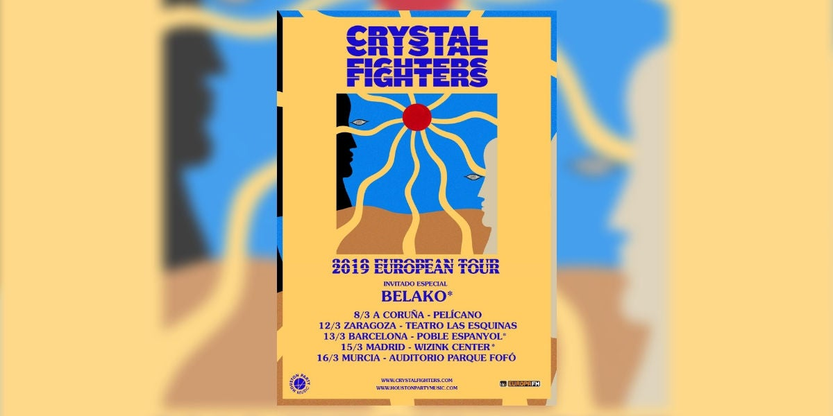 Crystal Fighters European Tour