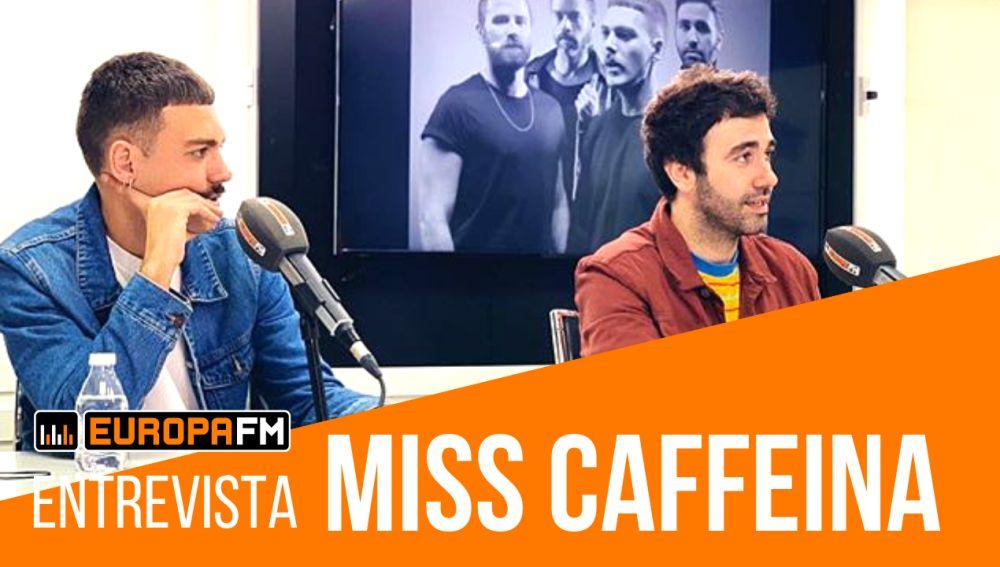 Alberto y Sergio de Miss Caffeina durante su Facebook Live con Europa FM