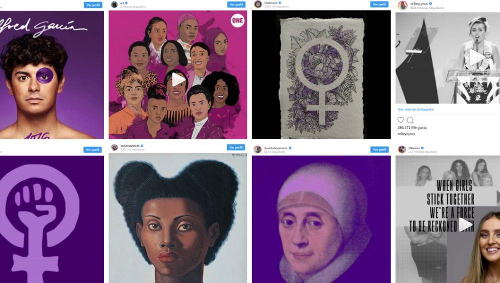 El mundo de la música apoya el Día Internacional de la Mujer