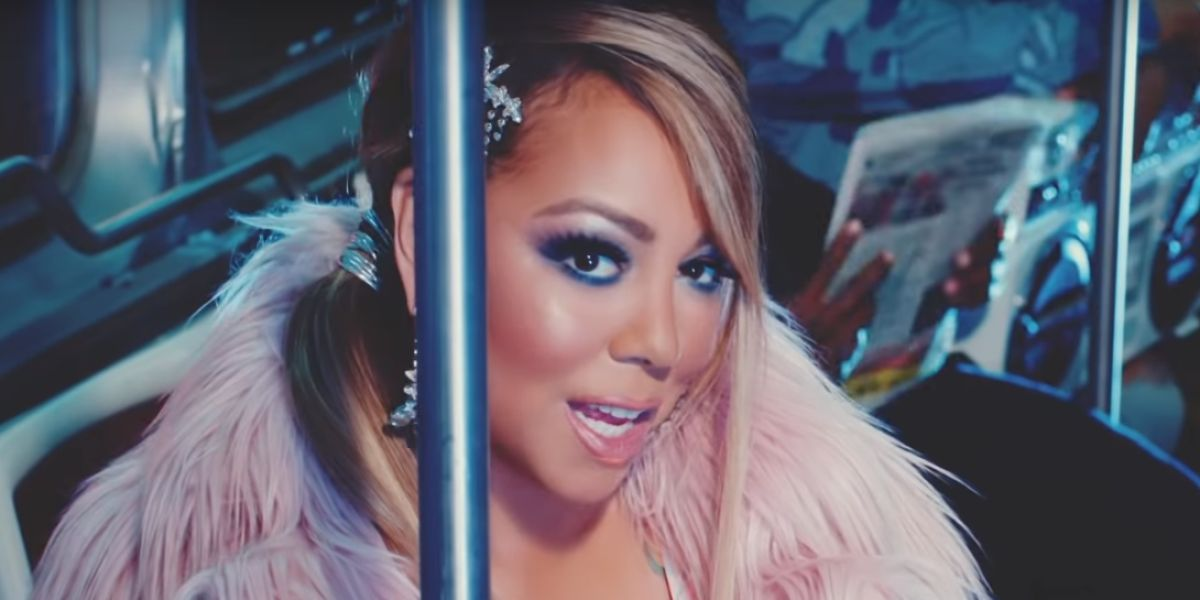 Mariah Carey en el videoclip 'A No No'