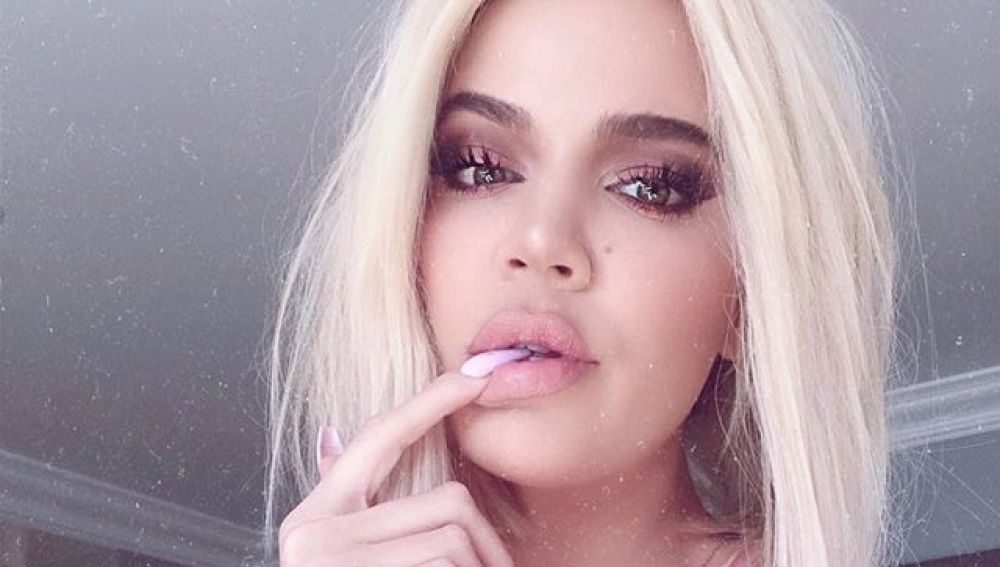 Khloé Kardashian en un selfie para Instagram