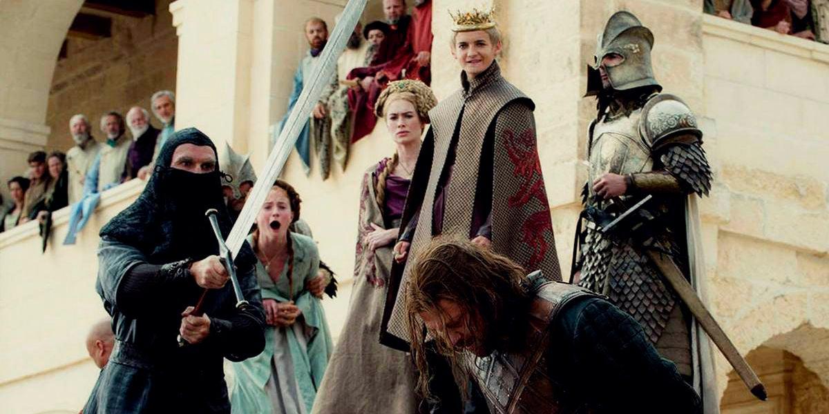 Escena de la muerte de Ned Stark en 'Juego de Tronos'