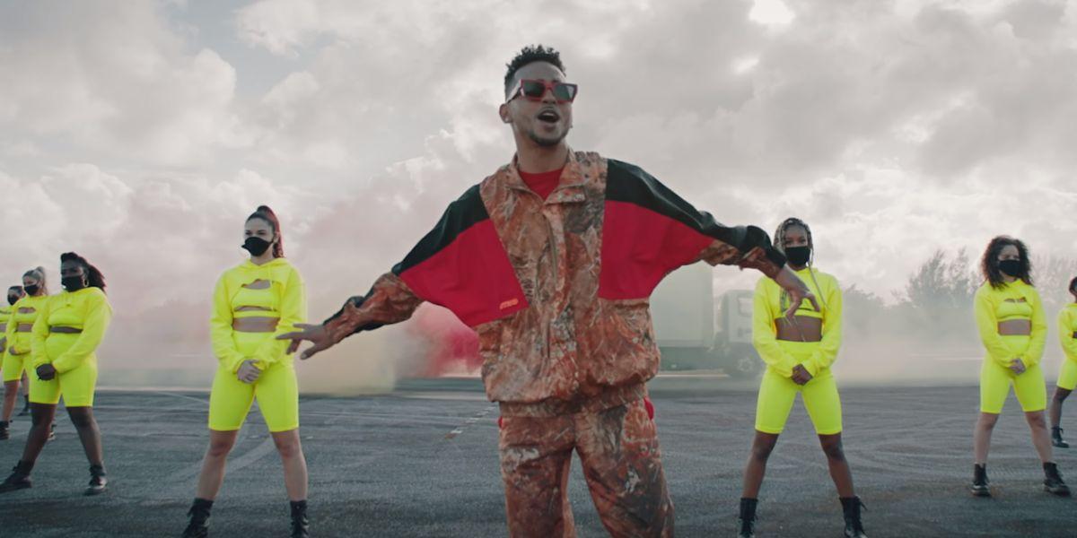 Ozuna en el videoclip 'Vacía Sin Mí'