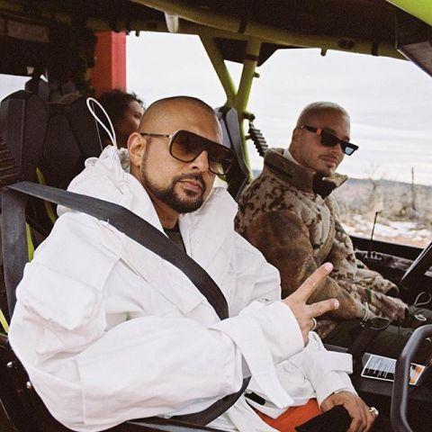 Sean Paul y J Balvin en el vídeo de 'Contra la pared'