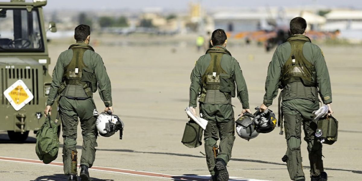 Soldados del Ejército del Aire.