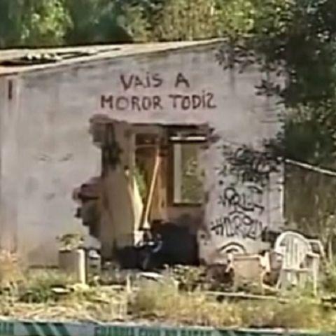 Imagen de la casa donde vivía la familia de los niños asesinados en Godella