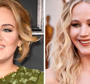 Adele y Jennifer Lawrence