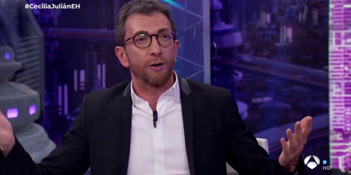Nuria Roca repasa, entre risas, los tensos titulares sobre Pablo Motos en 'El Hormiguero 3.0'