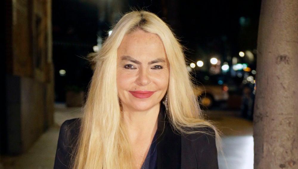La cantante Leticia Sabater