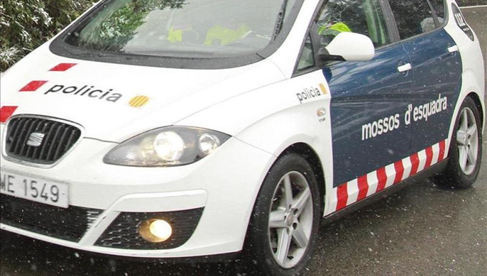 Imagen de un coche de los Mossos d'Esquadra