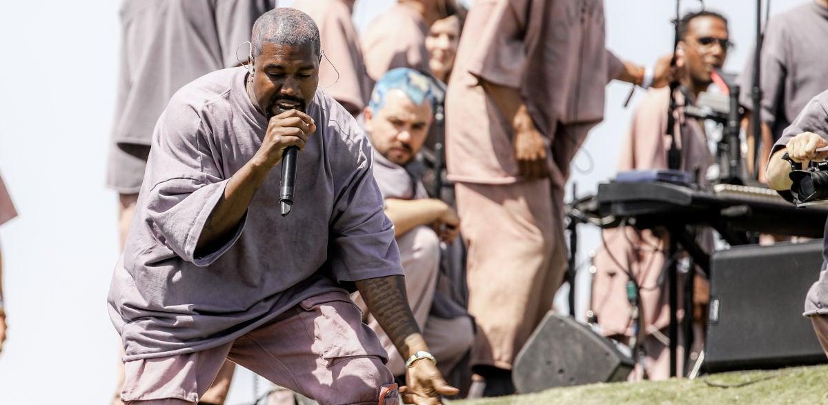 Kanye West en Coachella 2019