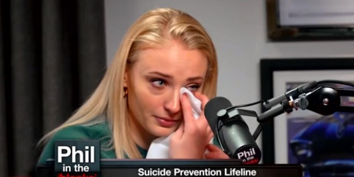 Sophie Tuner en el programa de Phil McGraw