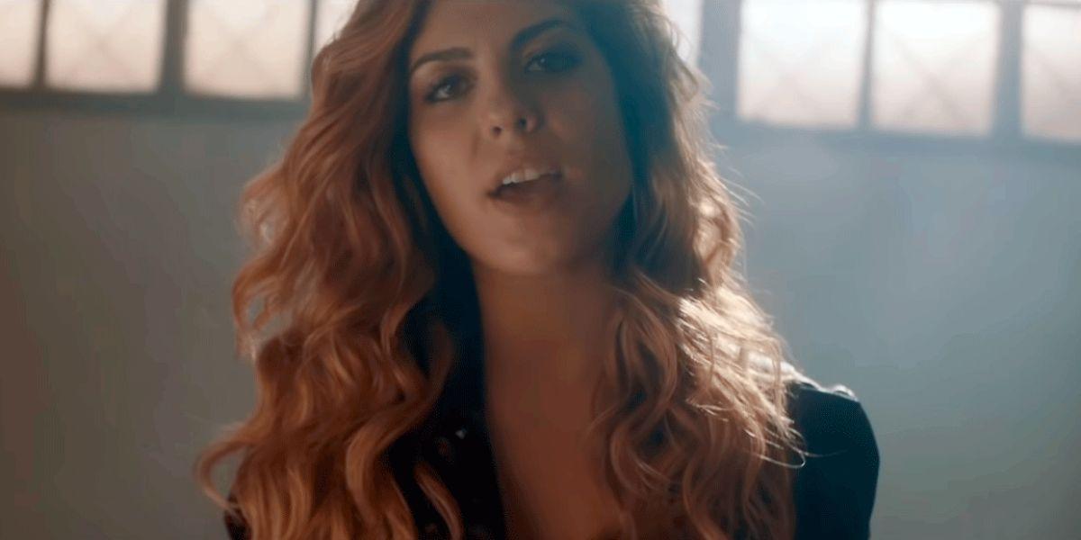 Miriam Rodríguez en el vídeo de 'Mejor Sin Miedo'