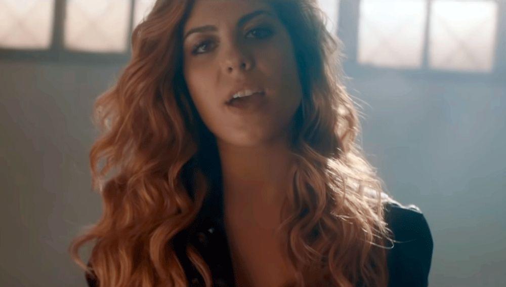 Miriam Rodríguez en uno de sus videoclips