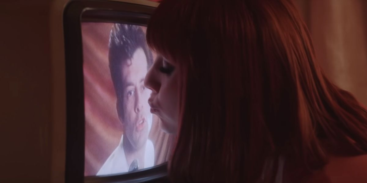Mark Ronson y Lykke Li en el vídeo de 'Late Night Feelings'