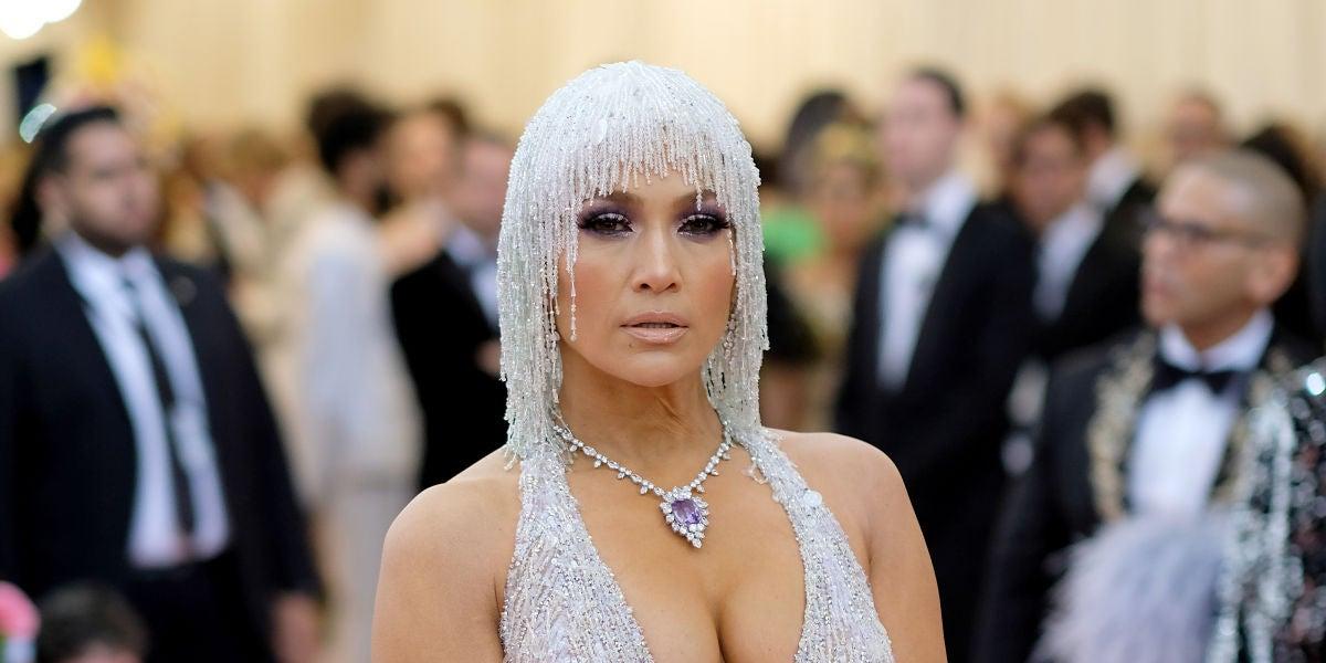Jennifer Lopez en la MET Gala 2019
