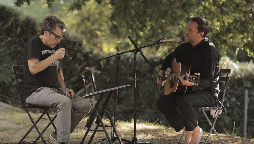 Iván Ferreiro y Fon Román