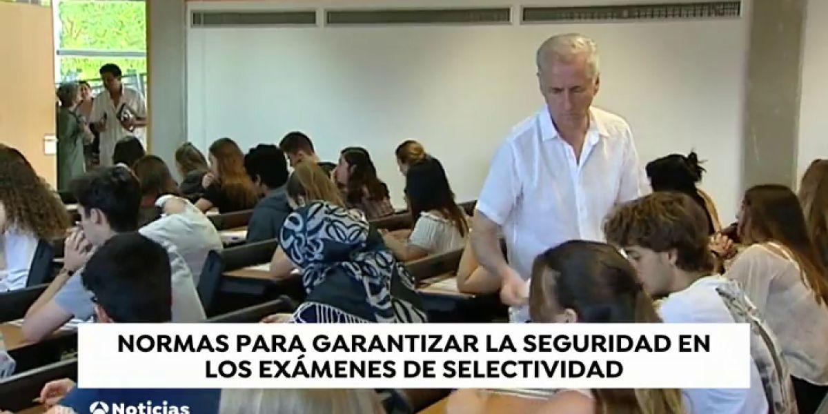 Galicia exige que los alumnos lleven el pelo recogido en la prueba de selectividad