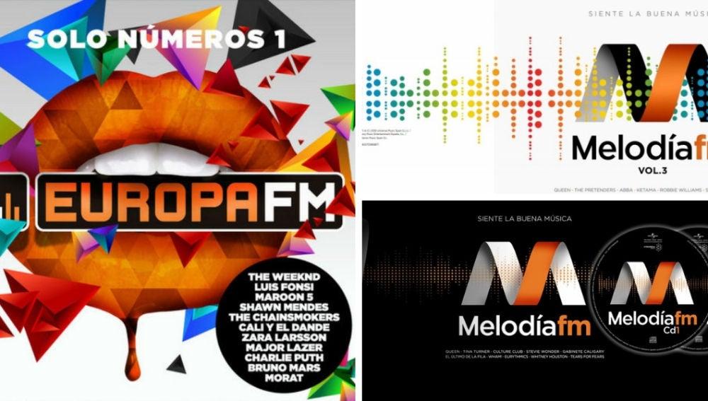 Tres discos de Atresmedia, en el TOP 20 de recopilaciones