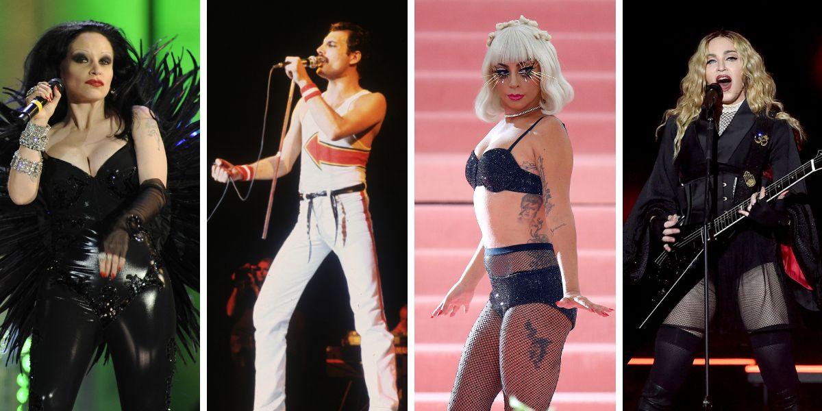 Alaska, Freddie Mercury, Lady Gaga y Madonna