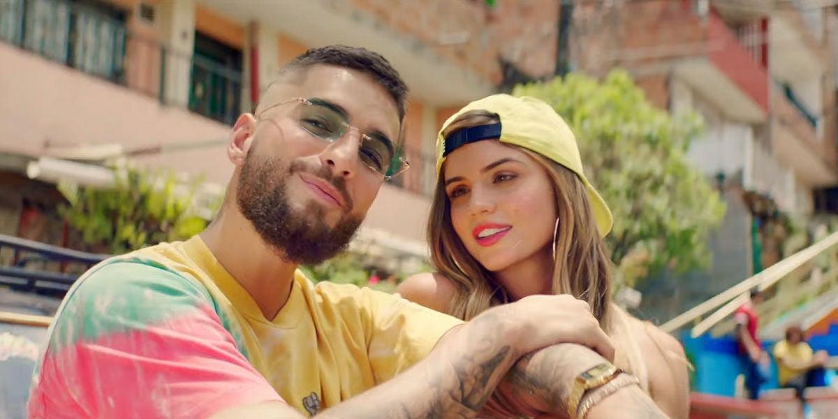 Maluma en el videoclip de '11 PM'