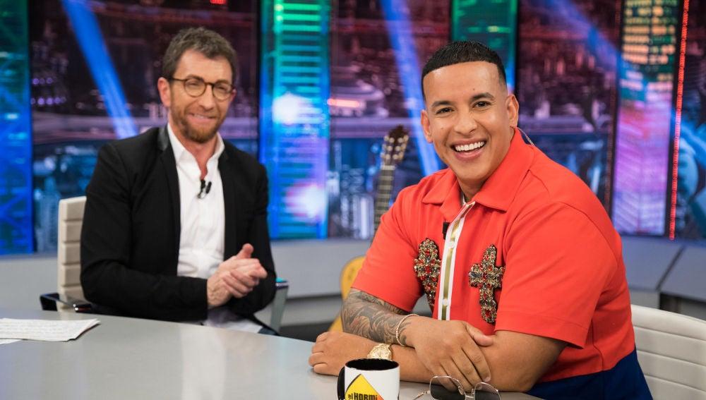 Daddy Yankee cuenta en 'El Hormiguero 3.0' cómo fue grabar junto a Katy Perry el remix de 'Con calma'