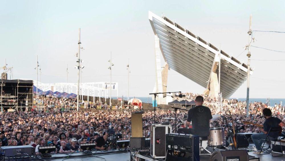 Uno de los escenarios del festival Primavera Sound 2018.
