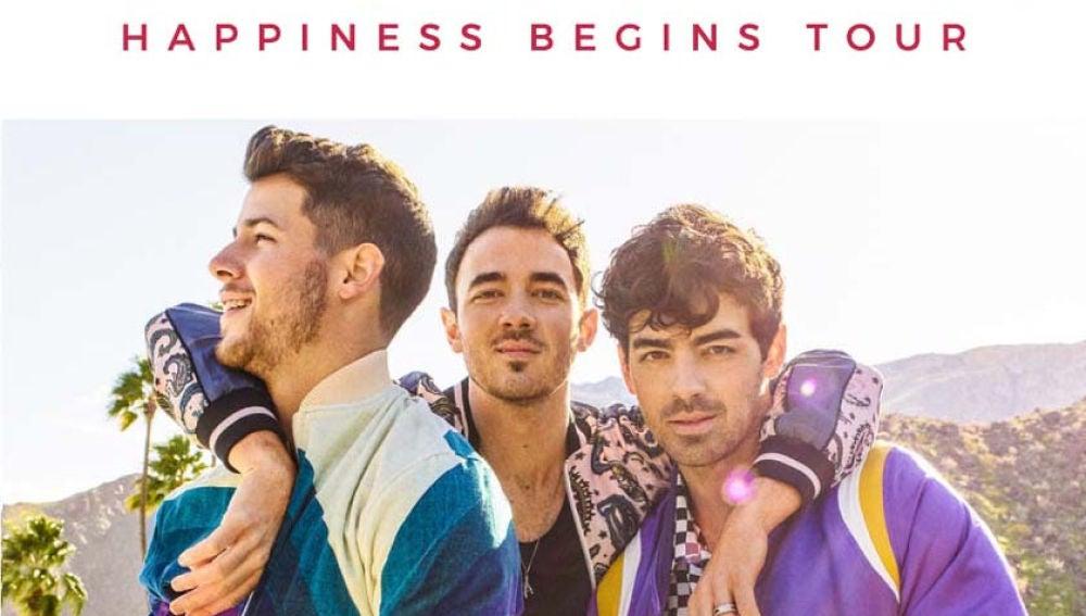 Jonas Brothers anuncian concierto en España