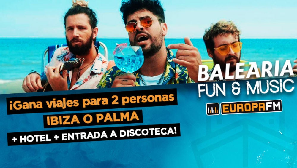 Viaja a Ibiza o Palma a bordo de una Baleària Fun & Music