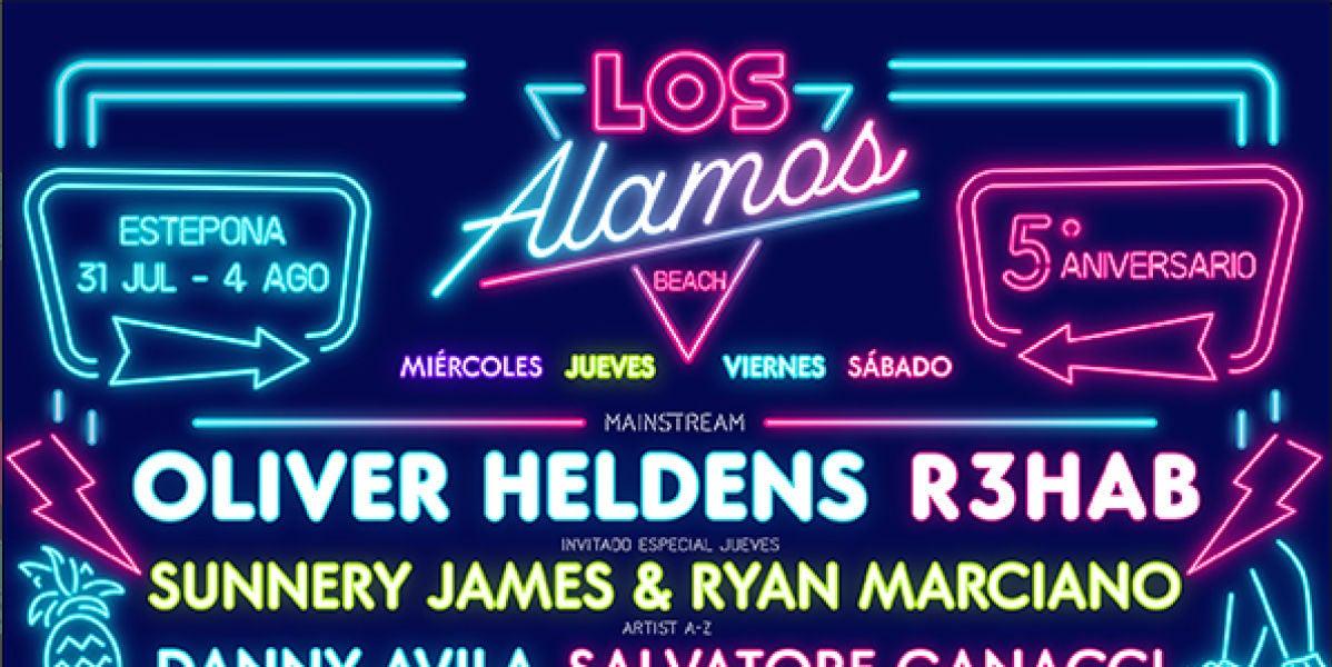Cartel completo de Los Álamos Beach Festival