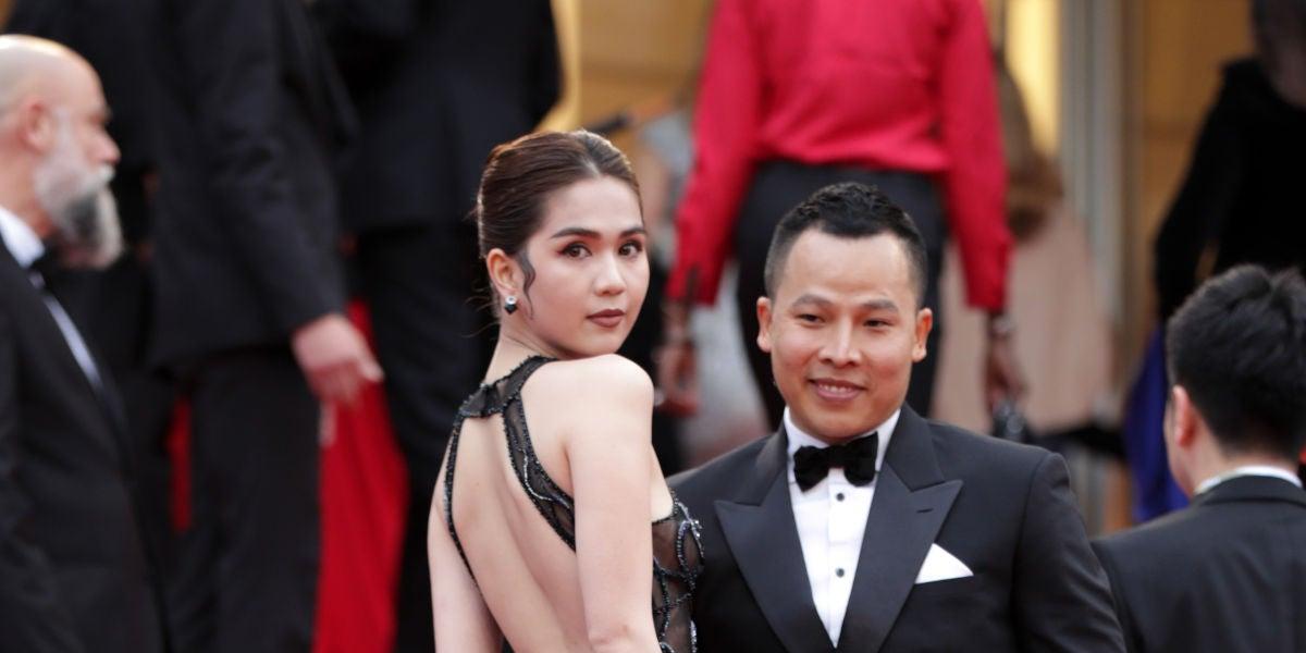 Ngoc Trinh en Cannes