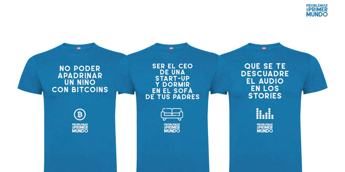 Vente a ver Problemas del Primer Mundo ¡y llévate una fantástica camiseta!