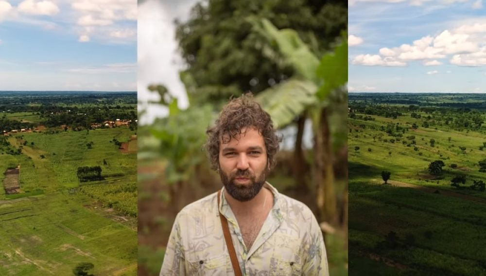 Arnau Griso en el vídeo de 'Quiero, quiero, quiero'
