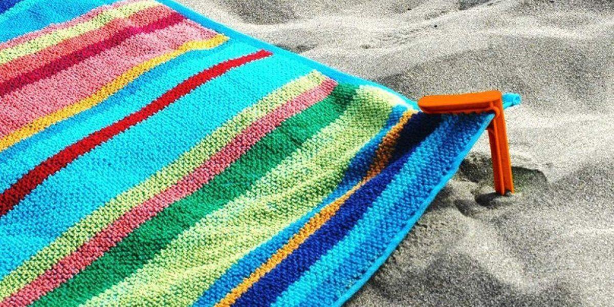 Pinza de toalla para playa