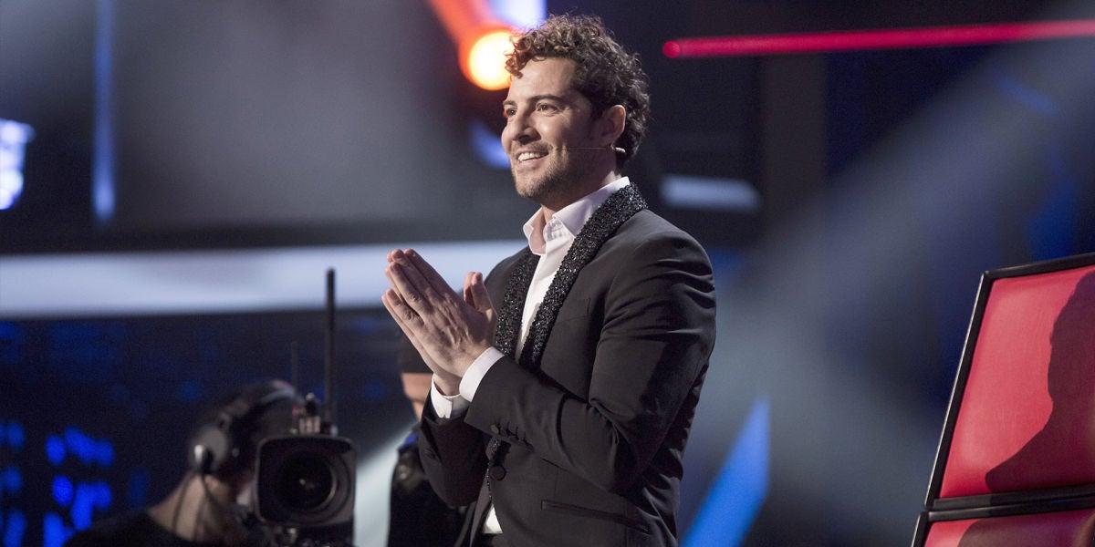 David Bisbal emocionado en la final de 'La Voz Senior'