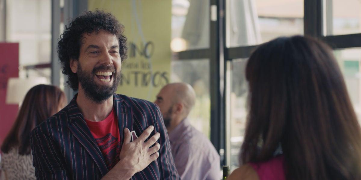 Juan Ibáñez interpreta a Nacho en 'Pequeñas coincidencias'