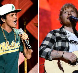 Bruno Mars y Ed Sheeran