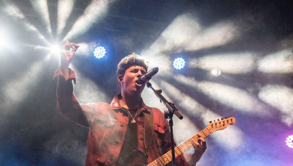 Alfred García en el concierto de Clotilde Fest en Barcelona