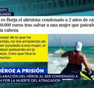 Borja, un 'héroe' a prisión