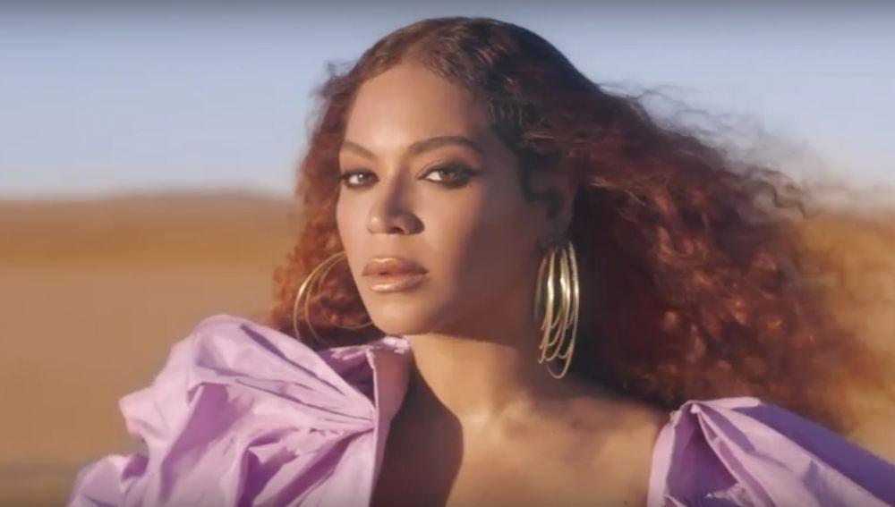 Beyonce en el videoclip de 'Spirit'