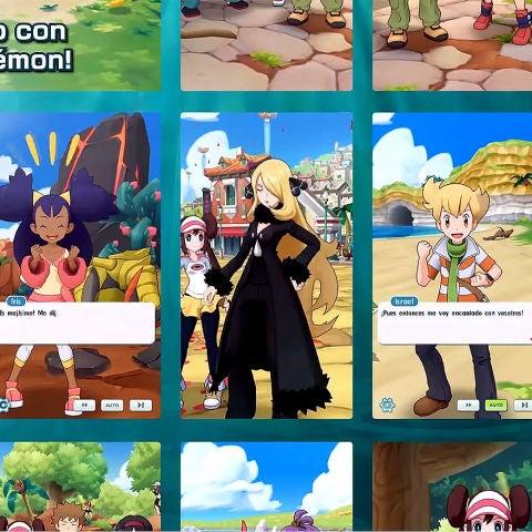 Así es el nuevo Pokémon Masters