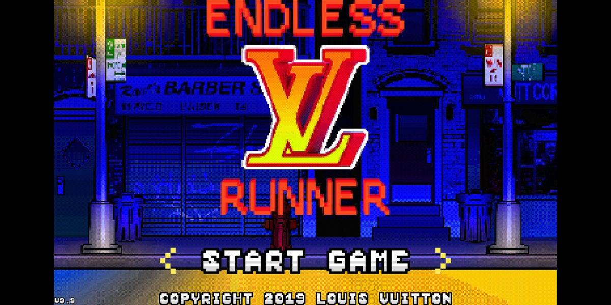 Louis Vuitton lanza el juego Endless Runner