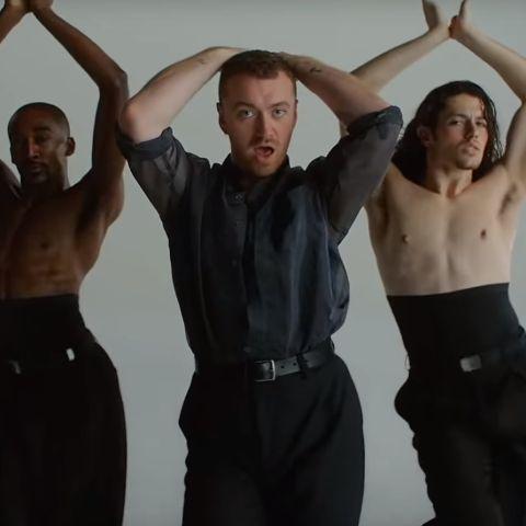 Sam Smith en el videoclip de 'How Do You Sleep?'
