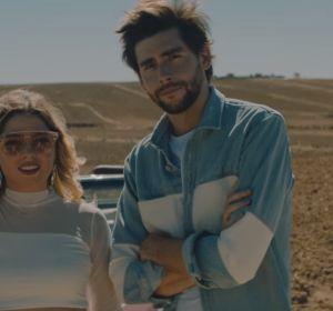 Juan Magán, Marielle Hazlo y Álvaro Soler en el vídeo de 'Sobrenatural'