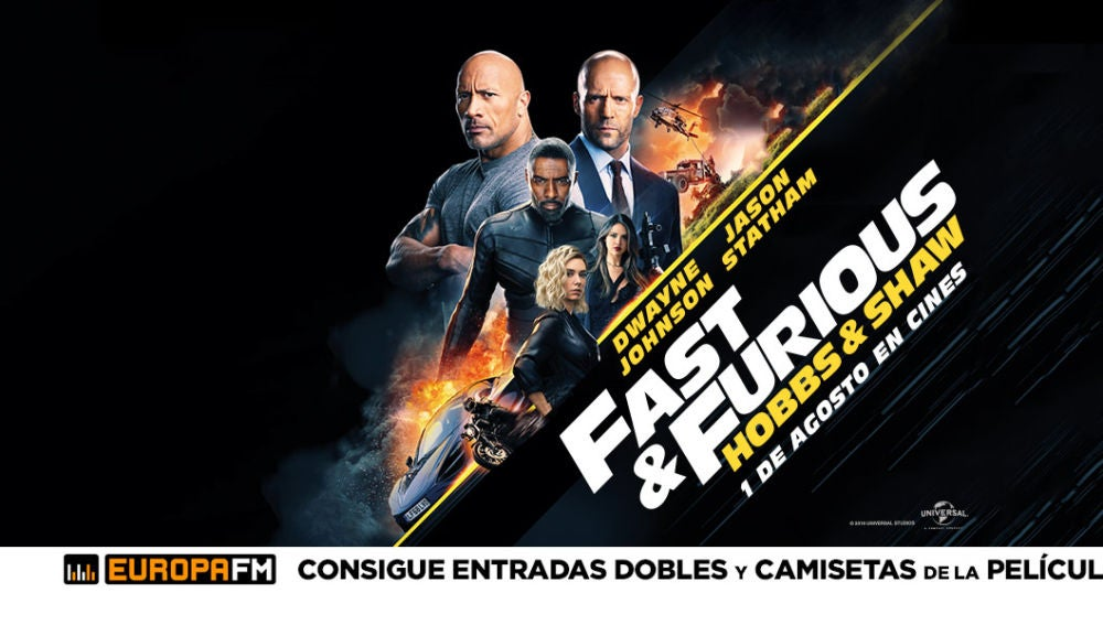Concurso Fast & Furious: Hobbs & Shaw
