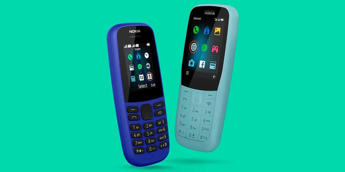 Nokia 105 y Nokia 220 5G